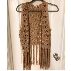 Umgee Crochet Vest